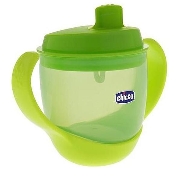 CHICCO Неразливаща чаша 3в1 зелен 180 мл.  (12м+)  0404